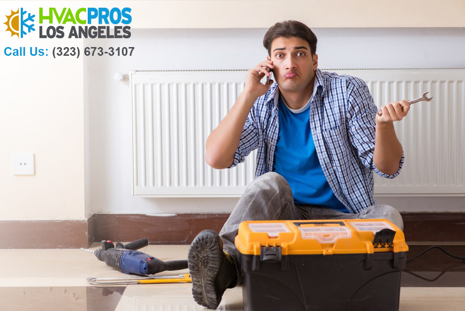 an AC repair Los Angeles
